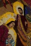 Imperia, Italia - 10 de junio de 2007: Infiorata ligur Fotografía de archivo libre de regalías