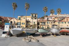 Imperia. Italian Riviera Royalty Free Stock Photos