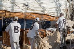 Panerai Classic Yachts Challenge, Imperia, Italy Royalty Free Stock Photos