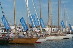 Panerai Classic Yachts Challenge, Imperia, Italy Stock Photo