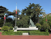Imperia-Krieg-Denkmal Lizenzfreie Stockbilder