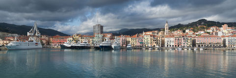 Imperia l'Italie Ligurie Photo stock