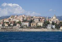 Imperia la Riviera italienne Photographie stock