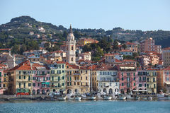 Imperia Oneglia Fishing Port Royalty Free Stock Image
