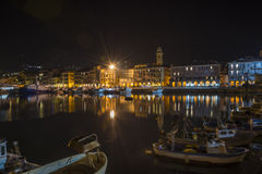 Imperia Oneglia harbour Royalty Free Stock Photo
