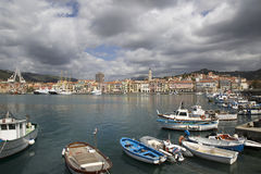 Imperia Oneglia, Liguria region, Italy Stock Photo