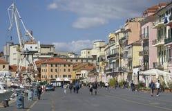 Imperia Oneglia, regione della Liguria, Italia Immagine Stock Libera da Diritti