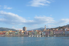 Imperia Oneglia Waterfront Stock Images