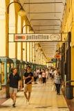 Imperia - Piazza Dante Archway photographie stock libre de droits