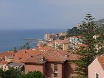 Imperia - Porto Maurizio obraz royalty free