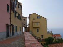 Imperia - Porto Maurizio obraz stock