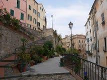 Imperia - Porto Maurizio obrazy stock