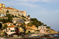 Imperia Porto Maurizio Stock Image