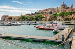 Imperia Porto Maurizio (Liguria Włochy) zdjęcia stock
