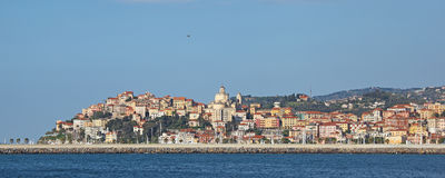 Imperia Porto Maurizio Panorama royalty free stock photo