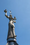 Imperia statua przy jeziornym Konstanz Zdjęcia Royalty Free