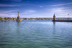 Imperia statue in harbor of Constance, Germany Royalty Free Stock Photo