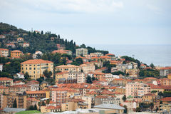 Imperia town in Italy Royalty Free Stock Image