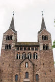 Imperial Abbey of Corvey, Germany stock images