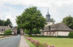 Imperial Abbey of Corvey, Germany Stock Photos