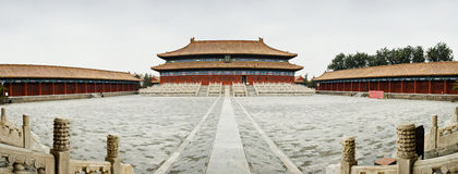 The Imperial Ancestral Temple1# Royalty Free Stock Photos