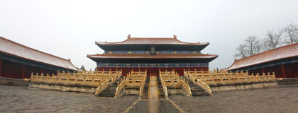 The Imperial Ancestral Temple in China Stock Photography