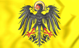 Imperial banner of Holy Roman Emperor before 1433 Stock Photography