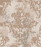 Imperial Baroque pattern vintage background Vector. Ornamented texture luxury design. Royal textile decors vector illustration