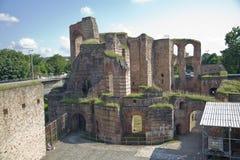 Imperial Baths,Kaiserthermen,Trier,Germany Stock Photo