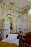 Imperial bedroom in the palace of Vienna Royalty Free Stock Photo