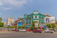 Imperial buildings in Yngoon Stock Images