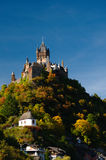 The imperial castle in Cochem Stock Photography