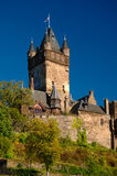 The imperial castle in Cochem Royalty Free Stock Images