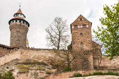 Imperial Castle in Nuremburg Royalty Free Stock Image