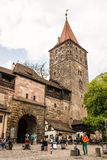 Imperial Castle in Nuremburg Stock Photography