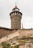 Imperial Castle in Nuremburg Stock Images
