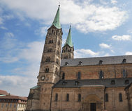 Imperial cathedral in Bamberg Royalty Free Stock Photos