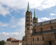 Imperial cathedral in Bamberg Stock Image