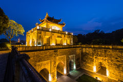 Imperial Citadel of Hanoi stock photos
