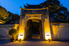 Imperial Citadel of Hanoi royalty free stock images