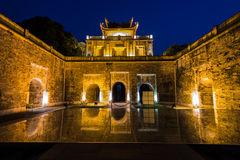 Imperial Citadel of Hanoi stock photography