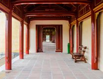 The Imperial City, Established as the capital of unified Vietnam Royalty Free Stock Photo