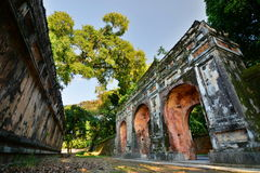 Imperial City. Hue. Vietnam royalty free stock images