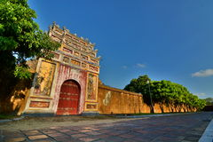 Imperial City. Hué. Vietnam Royalty Free Stock Photography