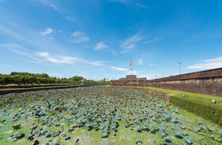 Imperial City in Hue, ancient capital of Vietnam royalty free stock images