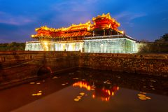 Imperial City in Hue, Vietnam stock photography