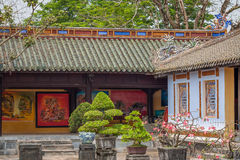 Imperial City of Hue, Vietnam royalty free stock photography