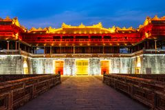 Imperial City in Hue, Vietnam stock photos