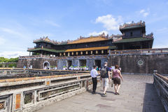 Imperial City in Hue, Vietnam Royalty Free Stock Photography