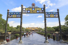 Imperial City in Hue, Vietnam Stock Photo